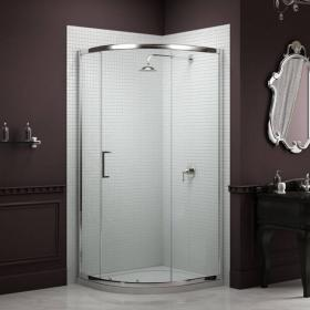 Sommer 8 900 x 900mm Single Door Quadrant Shower Enclosure