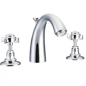 St James Collection 3 Hole Basin Mixer With Classical Spout- England Handle