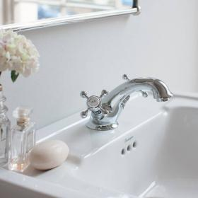 Burlington Stafford Mono Basin Mixer With Pop Up Waste