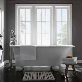 Imperial Stanlake Cian® Single Ended Freestanding Bath With Ball Feet