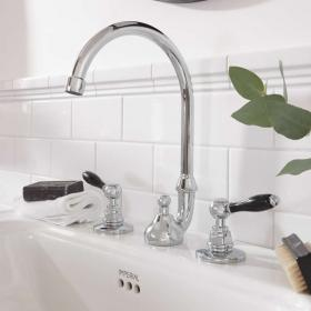 Imperial Stratford 3 Tap Hole Basin Mixer
