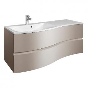 Bauhaus Svelte 120 Matt Coffee Vanity Unit & Basin