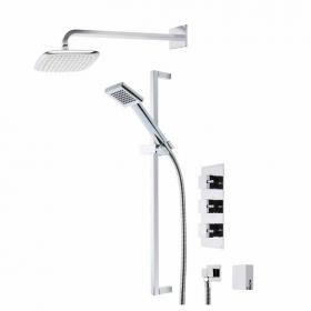 Roper Rhodes Event Square Triple Function Shower System