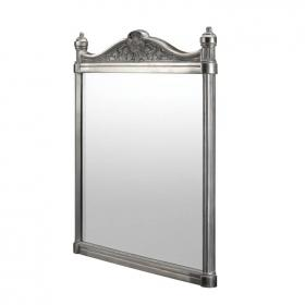Burlington Georgian Polished Aluminium Mirror