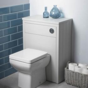 Tavistock Lansdown Linen White Back To Wall WC Unit