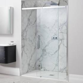 Simpsons Ten Single Sliding Shower Door