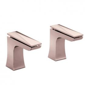 Heritage Hemsby Rose Gold Bath Taps