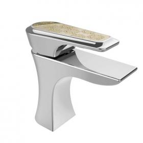 Heritage Lymington Lace Gold 1 Tap Hole Basin Mixer