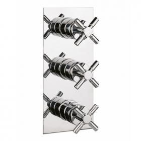 Crosswater Totti Thermostatic Shower Valve - 3 Control