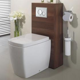 Bauhaus Touch Back To Wall WC & Soft Closing Seat