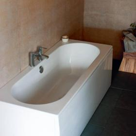 Britton Cleargreen Verde 1900 x 800mm Double Ended Bath