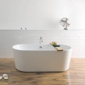 BC Designs Viado 1580mm Freestanding Bath