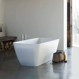 Clearwater Vicenza Petite Clear Stone Freestanding Bath
