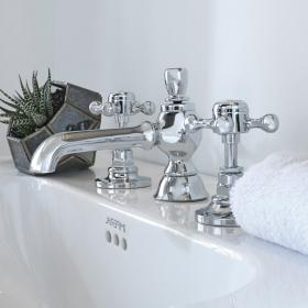 Imperial Victorian 3 Hole Basin Mixer