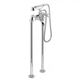 Vado Victoriana Floorstanding Bath Shower Mixer With Kit