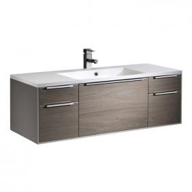 Roper Rhodes Vista Taupe/Dark Elm 1200mm Wall Mounted Unit & Basin