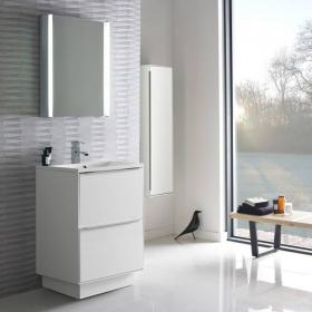 Roper Rhodes Vista Gloss White 600mm Freestanding Unit & Basin