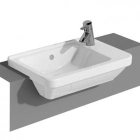 Vitra S50 Compact Square Semi Recessed Basin