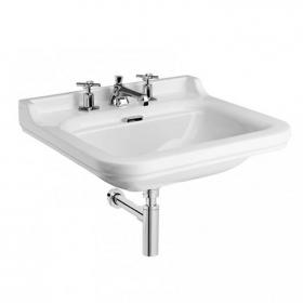 Bauhaus Waldorf 60 Wall Mounted Basin - 3 Tap Holes