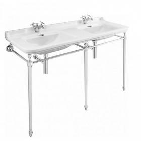 Bauhaus Waldorf 150 Double Single Tap Hole Basin Console