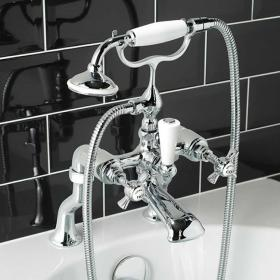 Vado Wentworth Bath Shower Mixer With Kit