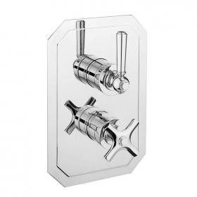 Crosswater Waldorf Chrome Lever 1500 Shower Valve With 2 Way Diverter