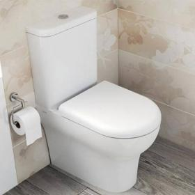 Vitra Zentrum Close Coupled Back To Wall WC, Cistern & Seat