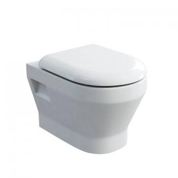 Britton Curve Wall Hung Pan & Soft Close Seat