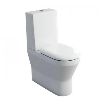 Britton Tall Close Coupled Back To Wall WC, Cistern & Seat