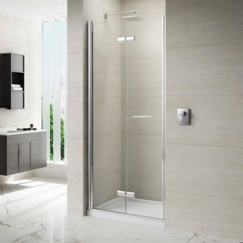 Merlyn 8 Series Frameless Hinged Bifold Shower Door
