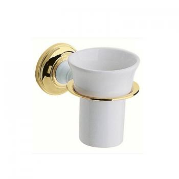 Heritage Clifton Vintage Gold Tumbler Holder