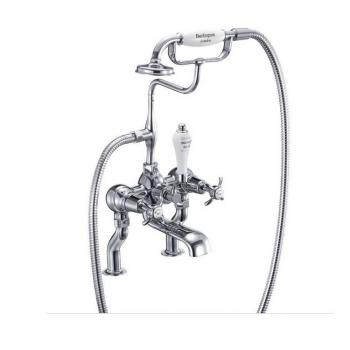 Burlington Anglesey Deck Mounted Bath Shower Mixer