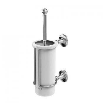 Arcade Chrome Toilet Brush Holder