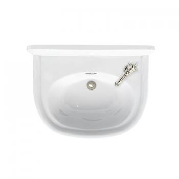 Arcade 500mm Cloakroom Basin - 1 Right Hand Tap Hole