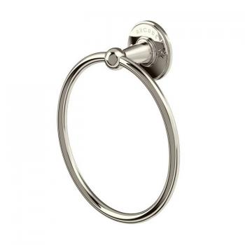 Arcade Nickel Towel Ring
