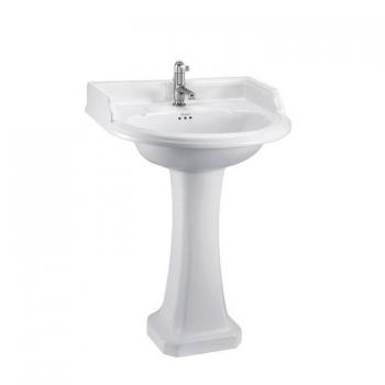Burlington Round Classic Basin With Pedestal