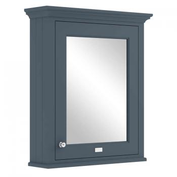 Bayswater Stiffkey Blue 600mm Mirror Wall Cabinet