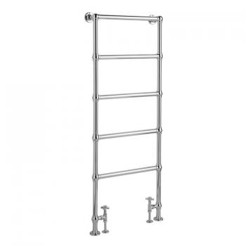 Bayswater Juliet Floor Mounted Towel Rail - 1549 x 598mm
