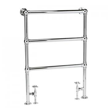 Bayswater Juliet Floor Mounted Towel Rail - 966 x 673mm