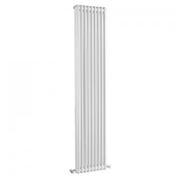 Bayswater Nelson Double White Radiator - 1800 x 425mm