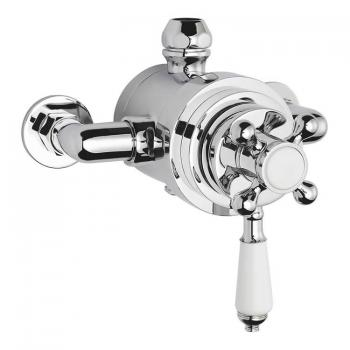 Bayswater Dual Thermostatic Exposed Shower Valve