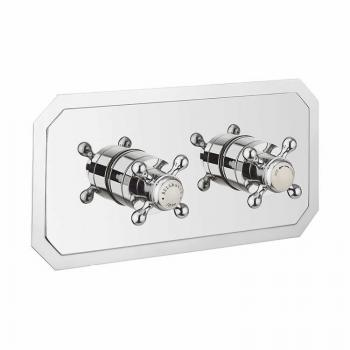 Crosswater Belgravia Crosshead 1501 Landscape Shower Valve With 2 Way Diverter
