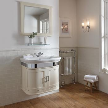 Imperial Carlyon Thurlestone Cream Haze Vanity Unit & Basin