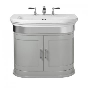 Imperial Carlyon Thurlestone Grey Ecru Vanity Unit & Basin