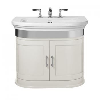 Imperial Carlyon Thurlestone Rosedale White Vanity Unit & Basin