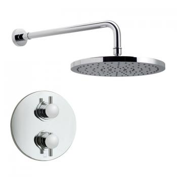 Vado Celsius Concealed Single Outlet Thermostatic Shower Valve Package