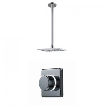 Britton Contemporary 2025 Digital Shower Valve & Ceiling Mounted Square Head