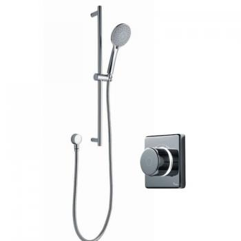 Britton Contemporary 2025 Digital Shower Valve With Sliding Rail Kit