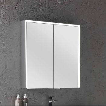 Roper Rhodes Compose Illuminated Mirror Cabinet With Bluetooth
