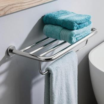 Crosswater Central Towel Rail 2 Tier